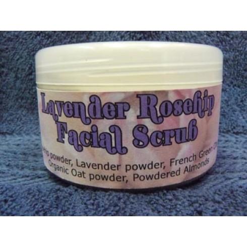 Lavender & Rosehip Facial Scrub