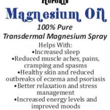 Magnesium Oil Spray 100% Pure Transdermal Magnesium Chloride
